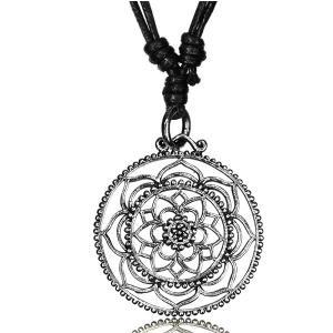 Halsband, Mandala blomma