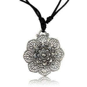 Halsband, Flower Mandala