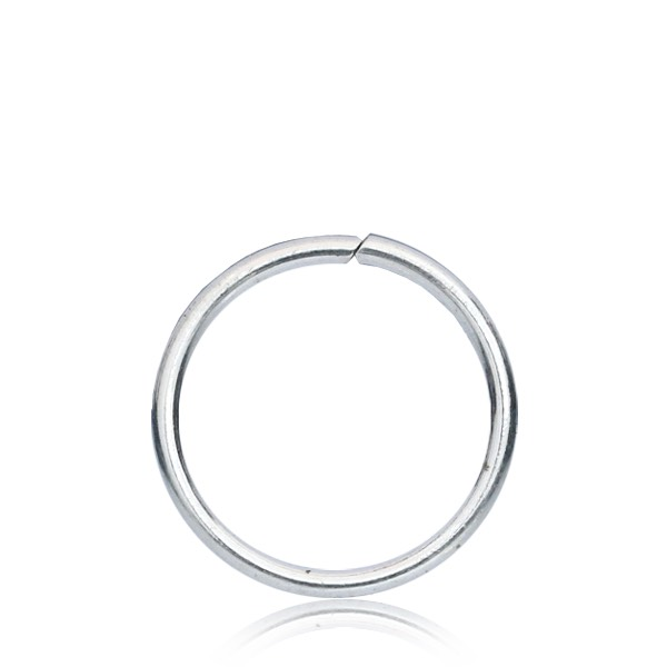 tunna ringar silver
