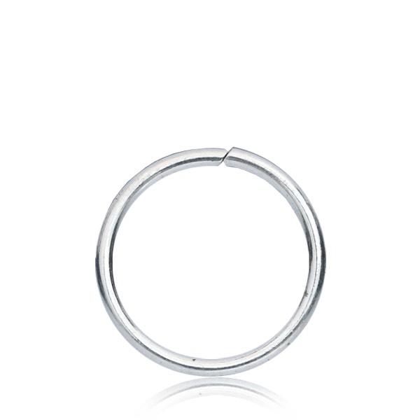 Tunn seamless ring 0.6mm - Äkta silver