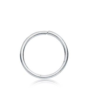 Tunn 0.8mm seamless ring - Äkta silver