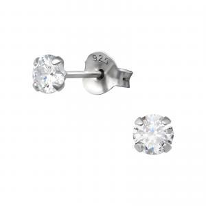 Kristallörhängen 4mm