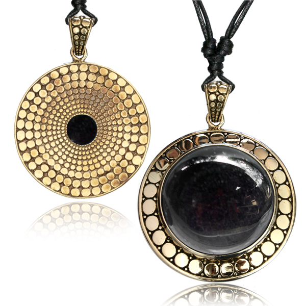 Halsband, Golden Obsidian