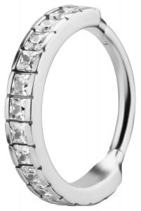 Conch Clicker Ring - Kristall