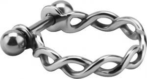 Piercingsmycke till Conch - Silvrig Ring