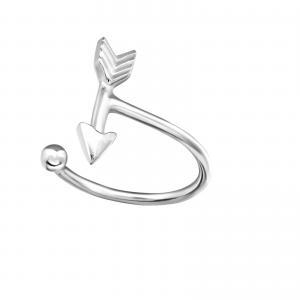 Ear cuff - Äkta silver - Pil