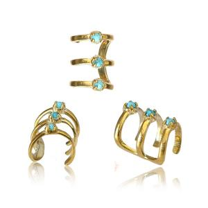 Ear cuff - Turkos