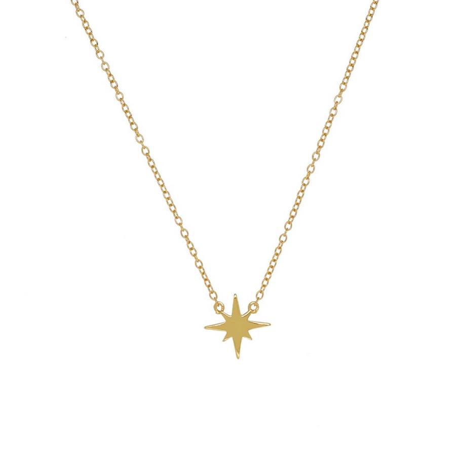 Guldhalsband - Stjärna