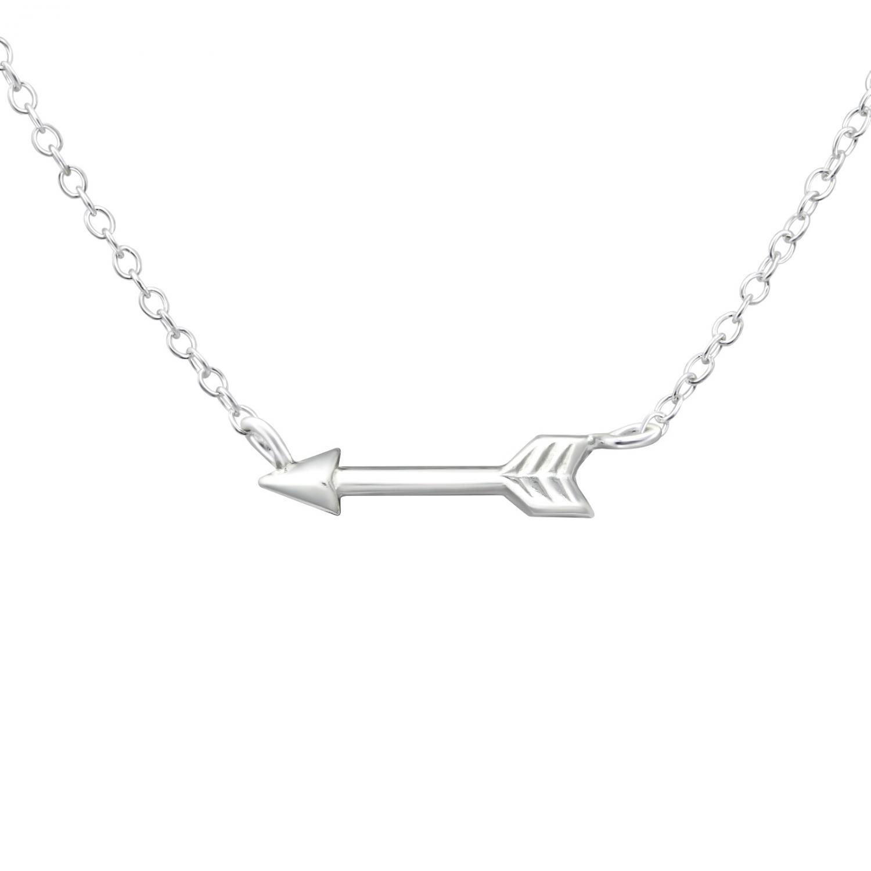 Halsband - Silver Arrow