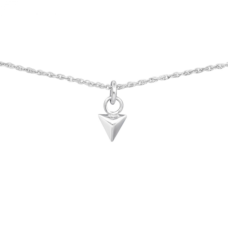 Halsband - Silver Cone