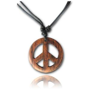 Halsband, Peace, Brown