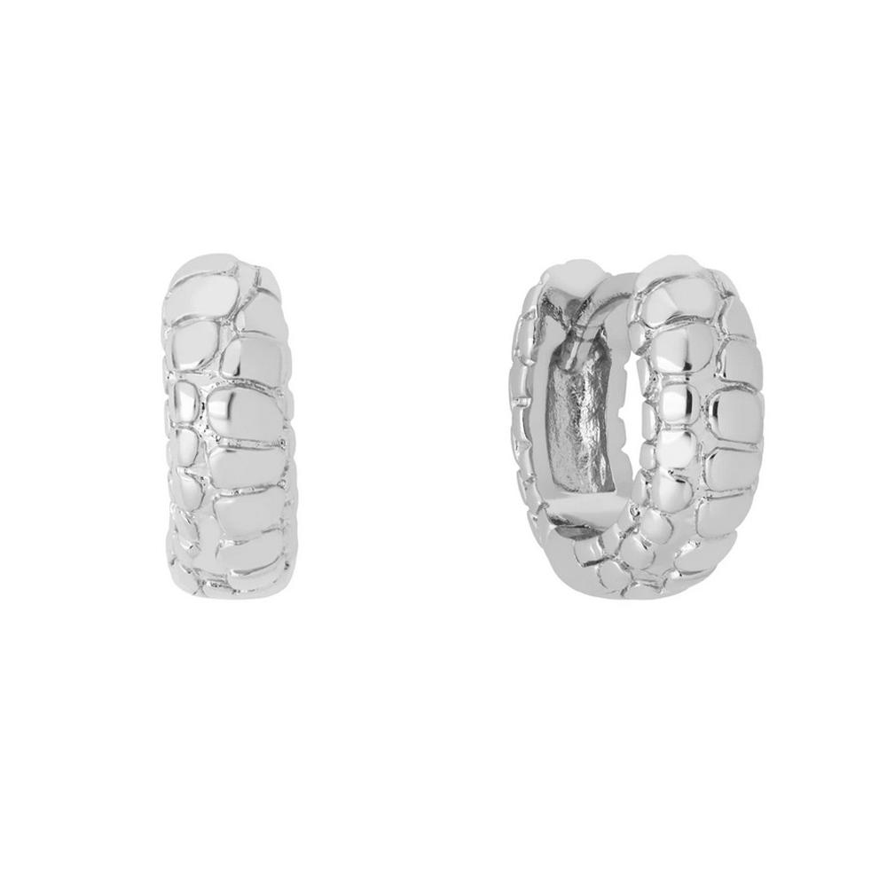 Huggie örhängen - Ringar i äkta silver