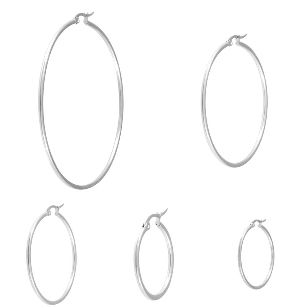 Hoops Ringar - Creoler i kirurgiskt stål