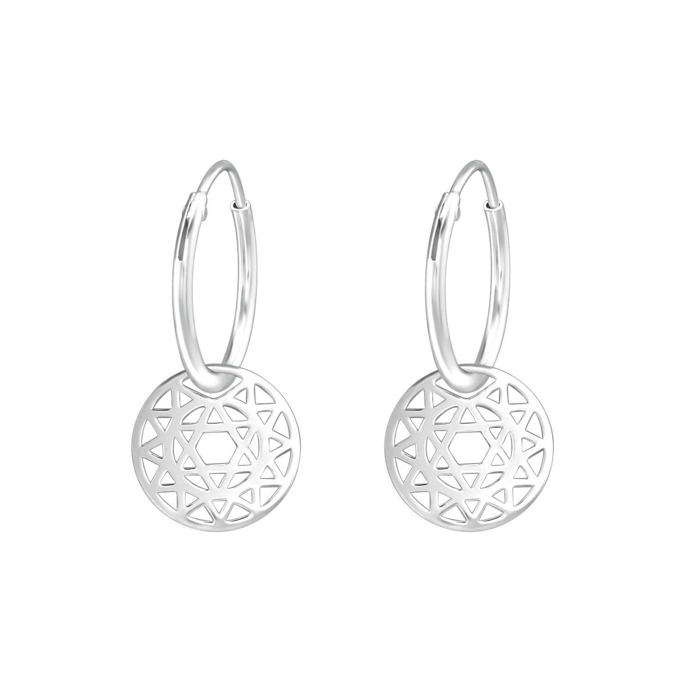 Ringar äkta silver - Mandala