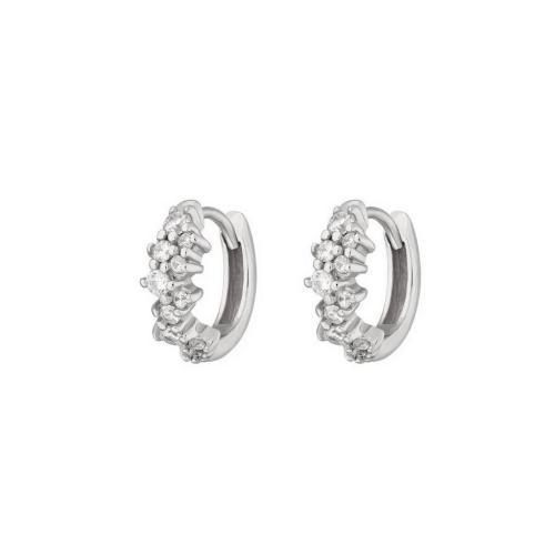Huggie Hoops - Creoler Ringar med kristaller