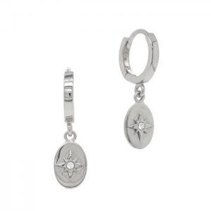 Huggie örhängen - Hoops Ringar med hängsmycke