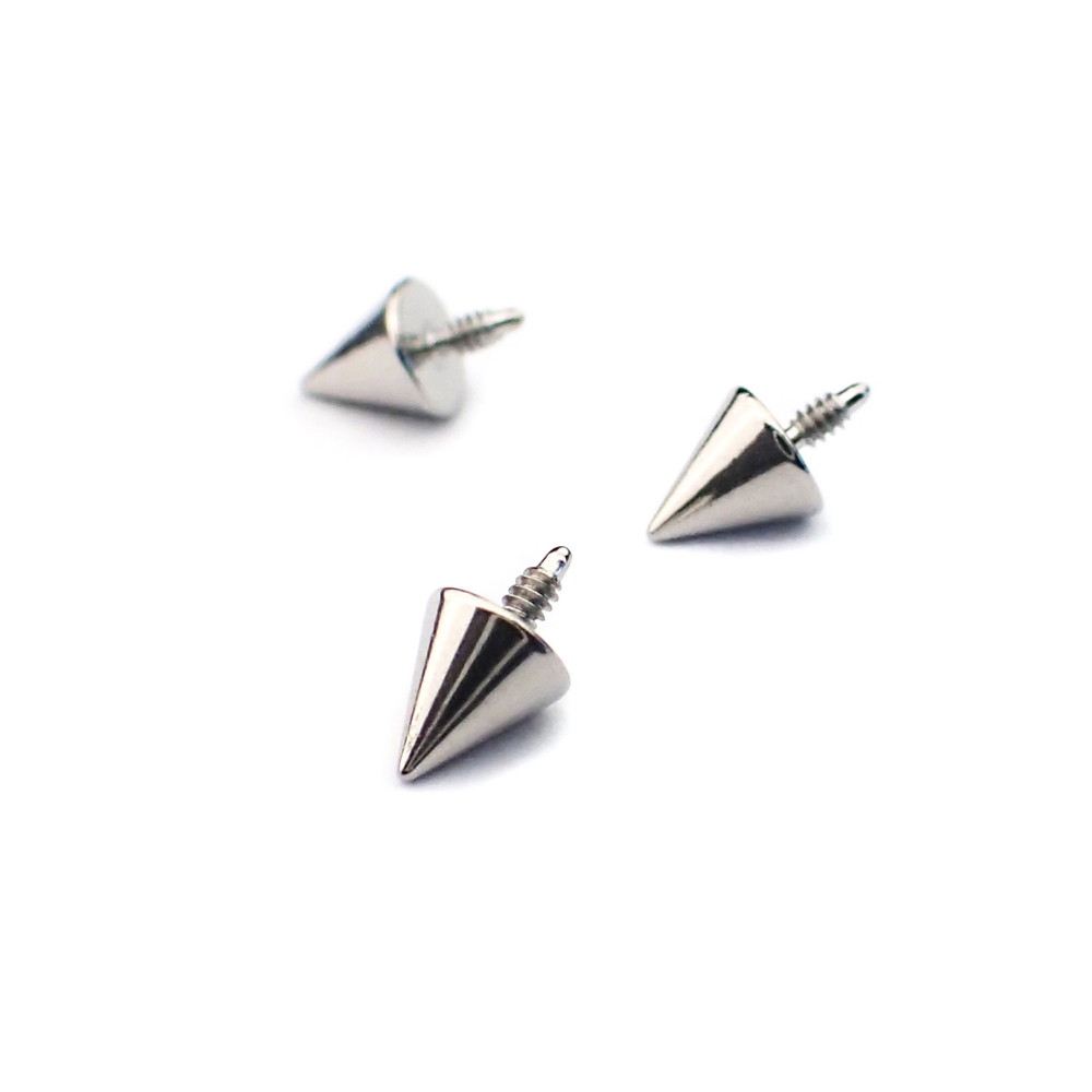 Kon - Piercingsmycke - Topp i kirurgiskt stål