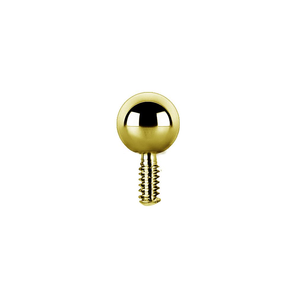 Kula till piercing PVD Guld