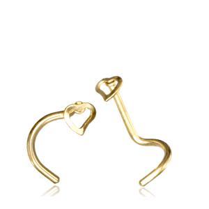 Nässmycke - PVD Guld - Hjärta