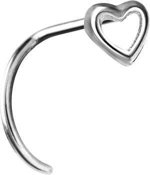 Smycke till näsa, Heart