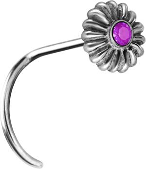 Smycke till näsa, Flower, Lila