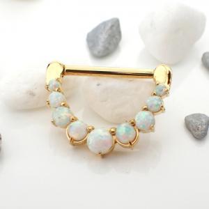 Ring till Nipple piercing - Clickersmycke till bröstvårta