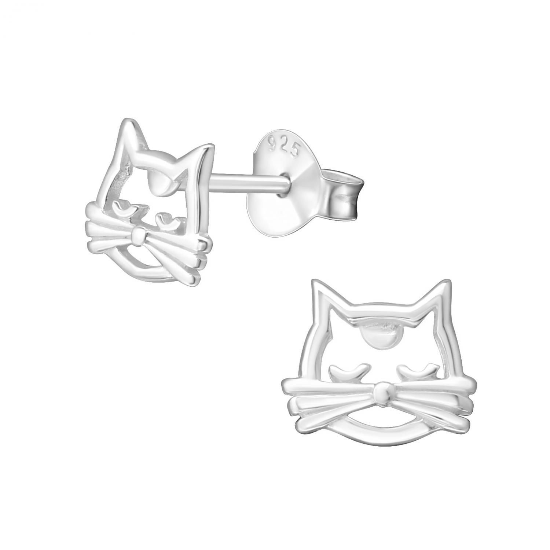 Silverörhängen - Kitten