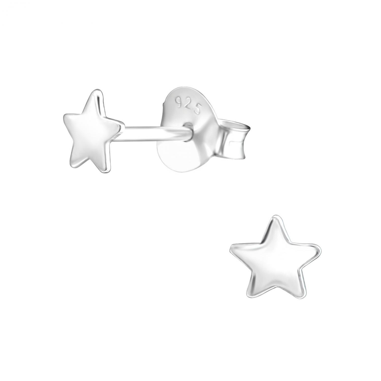 Silverörhängen - Stjärna