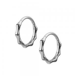 Creoler Ringar - Bambu Hoops  i kirurgiskt stål