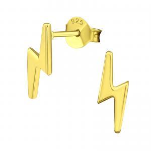Örhängen - Guldig Blixt