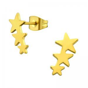 Örhängen - Stjärnor - Kirurgiskt stål