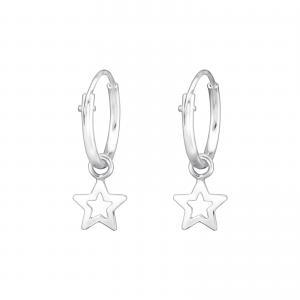 Silver Hoops - Stjärna