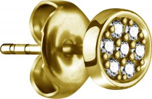 Stiftörhängen - Kristaller - Kirurgiskt stål