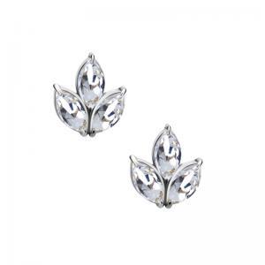 Örhängen - Kirurgiskt stål med kristaller