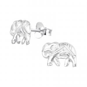 Silverörhängen - Elephant