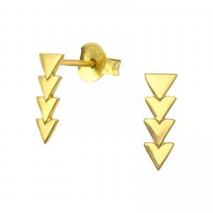 Örhängen - Guld - Movement