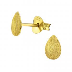 Örhängen - Guldig Teardrop