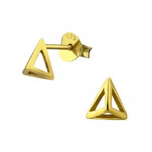 Örhängen - Hollow Pyramid