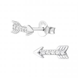 Örhängen - Pil - Äkta silver