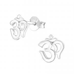 Örhängen - Silver Aum