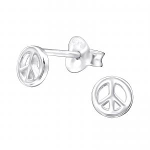 Örhängen - Silver Peace