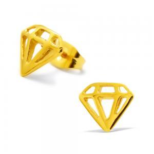 Örhängen - Guldig Diamant