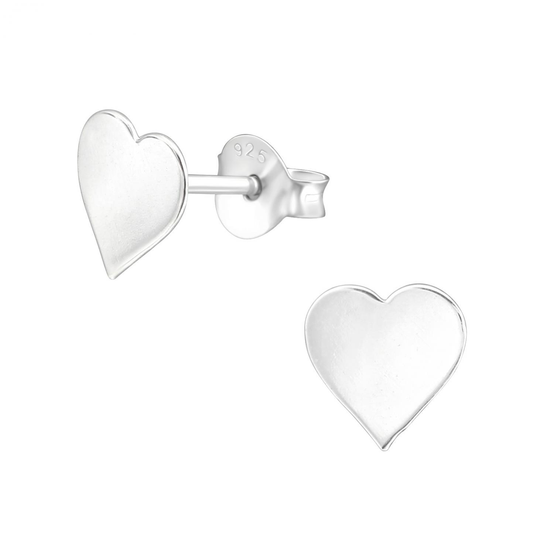 Stiftörhängen  - Hjärta