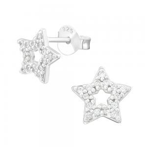 Örhängen - Äkta silver - Stjärna