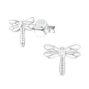 Silverörhängen - Dragonfly