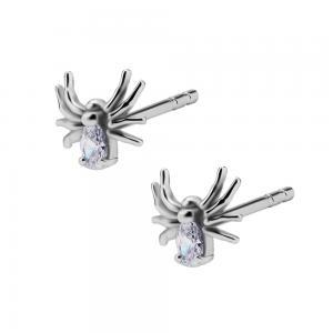 Stiftörhängen - Kirurgiskt stål - Spindel
