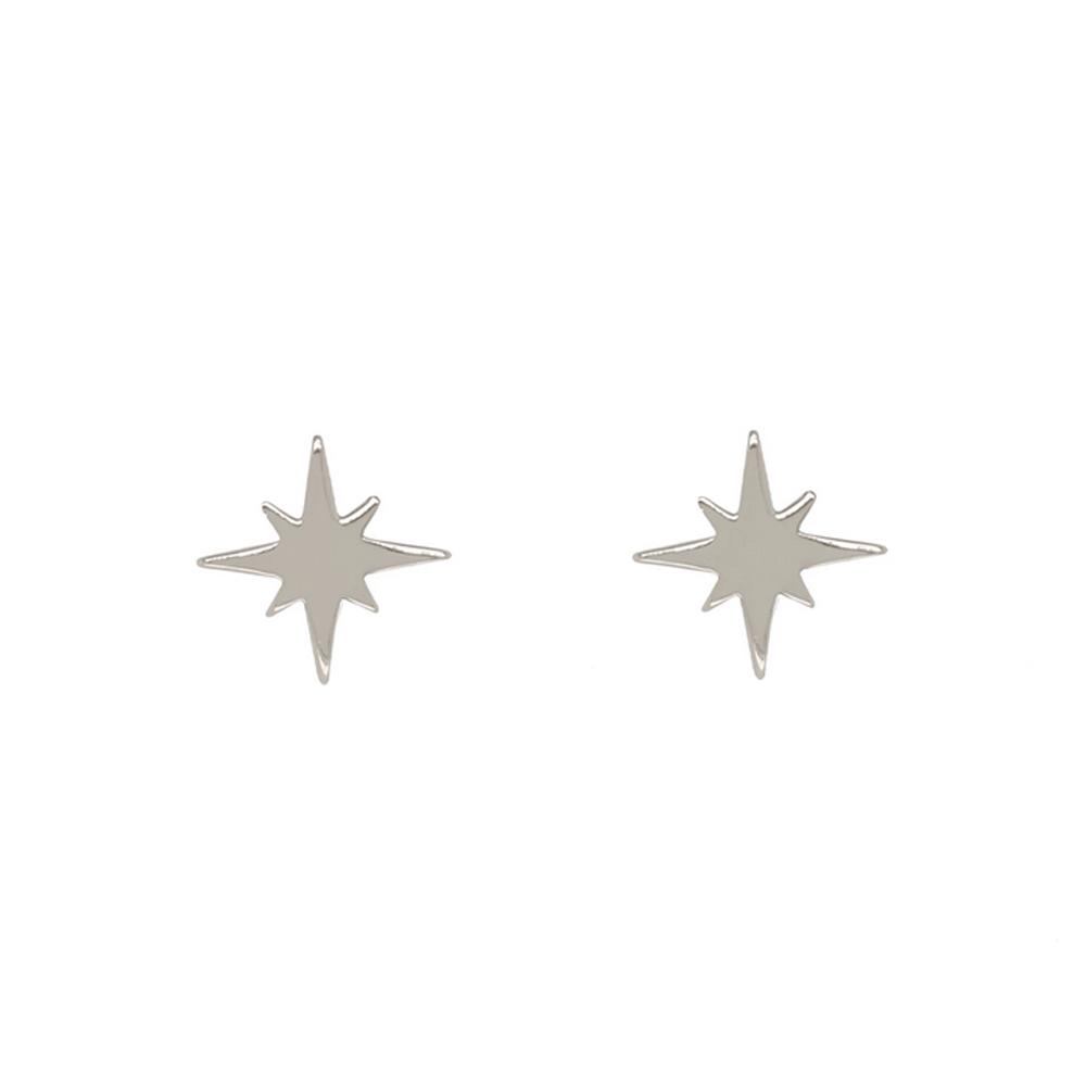 Örhängen - Stjärna - Äkta silver
