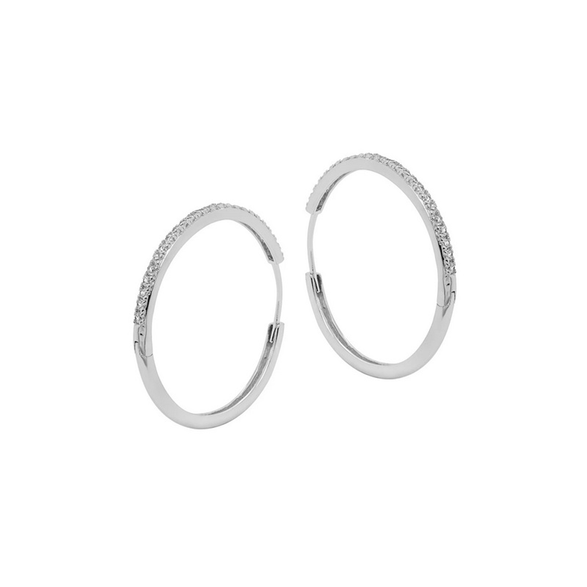 Stora Hoops - Creoler Ringar med kristaller