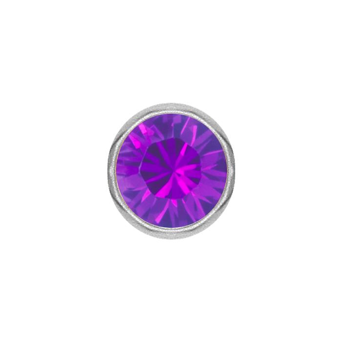Clip-in Kula - Lila Kristall