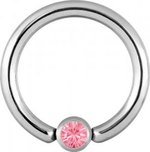 Clip-in Kula - Rosa Kristall
